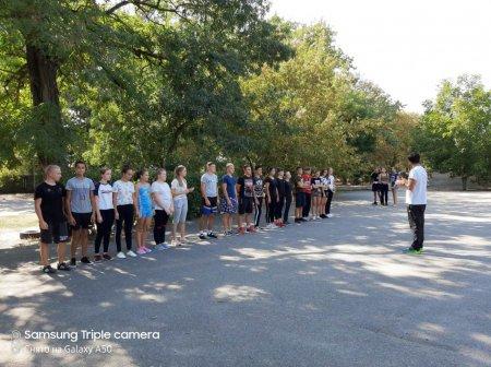 Змагання до дня фізичного виховання